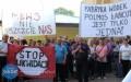 Pracownicy isympatycy Polmosu wyszli na ulicę