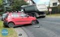 Wypadek na drodze nr 881