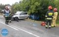 Tragiczny wskutkach wypadek drogowy