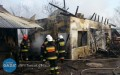 Pożar wŻołyni. Ranny strażak