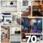Rabat - 70%! Meble kuchenne - wyprzedaż ekspozycji -70%