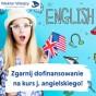 Dofinansowanie na kurs języka angielskiego