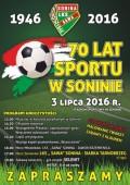 70 Lat Sportu wSoninie