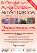 IX Charytatywna Aukcja Obrazów - Artyści Dzieciom