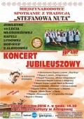"""""""STEFANOWA NUTA""""-Koncert Jubileuszowy Kapeli HOP-SIUP zAlbigowej"""