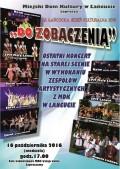 """""""DO ZOBACZENIA"""" - ostatni koncert na starej scenie MDK wŁańcucie"""
