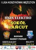 max ELEKTRO Sokół Łańcut - BIOFARM Basekt Poznań