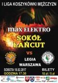max Elektro Sokół Łańcut - Legia Warszawa
