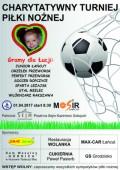 Gramy dla Łucji - Charytatywny Turniej Piłki Nożnej