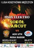 max elektro Sokół Łańcut - ACK UTH Rosa Radom