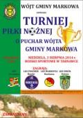 Turniej piłki nożnej oPuchar Wójta Gminy Markowa