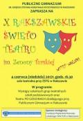 X Rakszawskie Święto Teatru im. Zenony Turskiej
