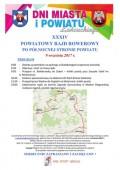 XXXIV Powiatowy Rajd Rowerowy Po Północnej Stronie Powiatu