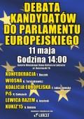 Debata Kandydatów do Parlamentu Europejskiego