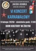 VI koncert karnawałowy Żołyńskiej Orkiestry Dętej