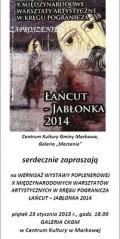 Wernisaż wystawy poplenerowej X Międzynarodowych Warsztatów Artystycznych wKręgu Pogranicza