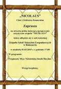 """Muzyka Józefa Haydna wwykonaniu Chóru iOrkiestry """"NICOLAUS"""""""