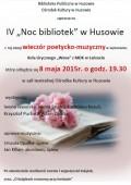 IV Noc bibliotek wHusowie