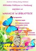 WAKACJE WBIBLIOTECE